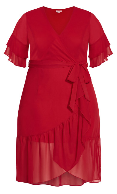 Pacha Dress - red