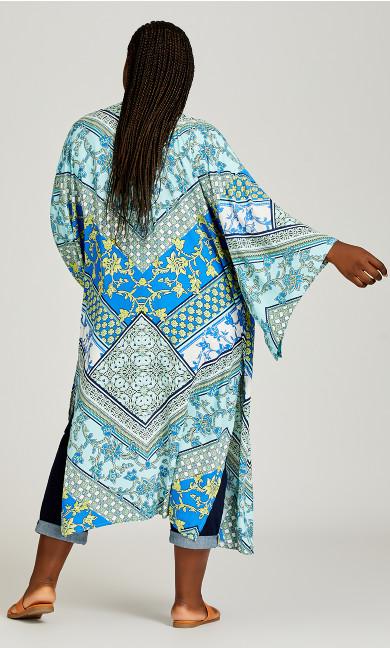 Mallorca Kimono - aqua