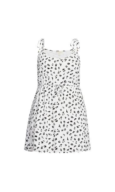 Sweetly Tied Dress - animal
