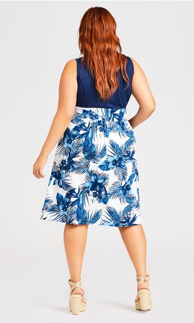 So Sweet Dress - navy