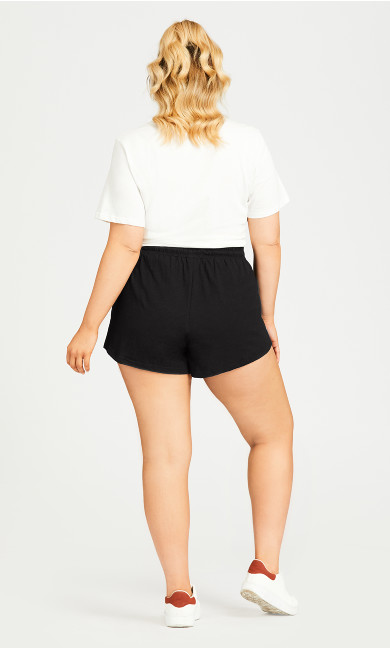 Simple Day Short - black