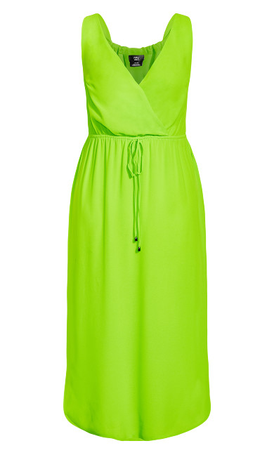 Sunlover Maxi Dress - lime