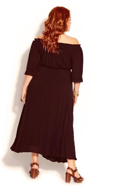 Lost Angel Maxi Dress - black