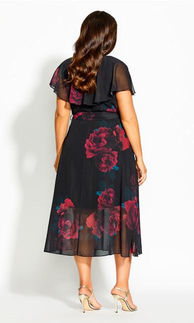 Rich Romance Dress - black