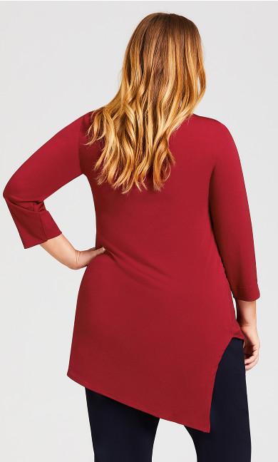 Kelly Tunic - brick red