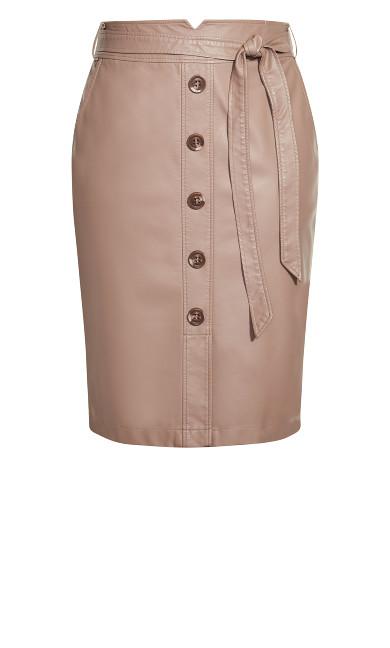 Pin Me Up Skirt - porcini