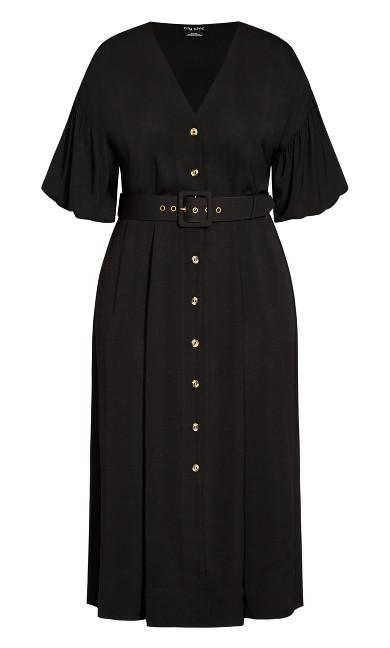 Golden Hour Dress - black
