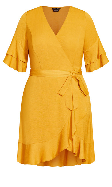 Flutter Daze Dress - butterscotch