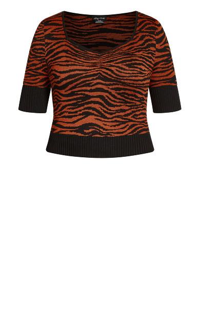 Wild At Heart Sweater - ochre