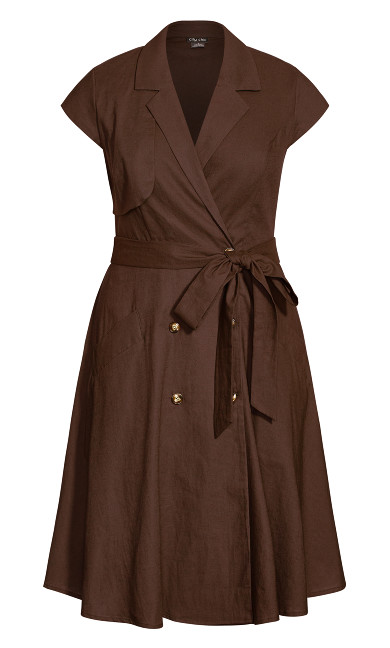 Essential Dress - mink