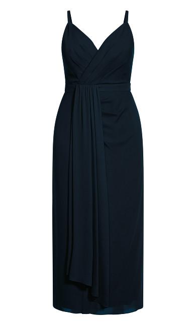 So Swish Maxi Dress - navy