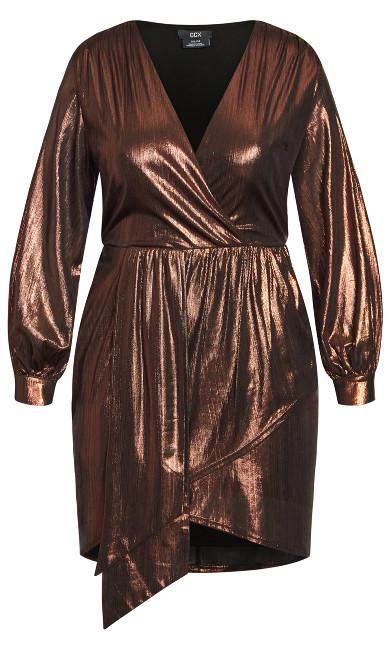 Ambiguous Dress - bronze