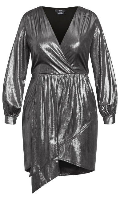 Ambiguous Dress - gunmetal