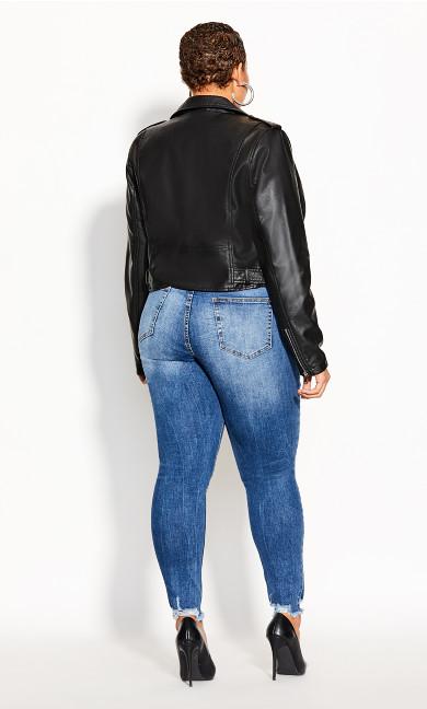 Lust Biker Jacket - black
