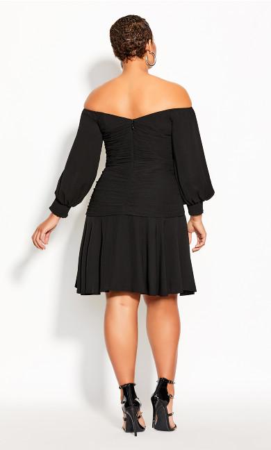 Rebel Royale Dress - black