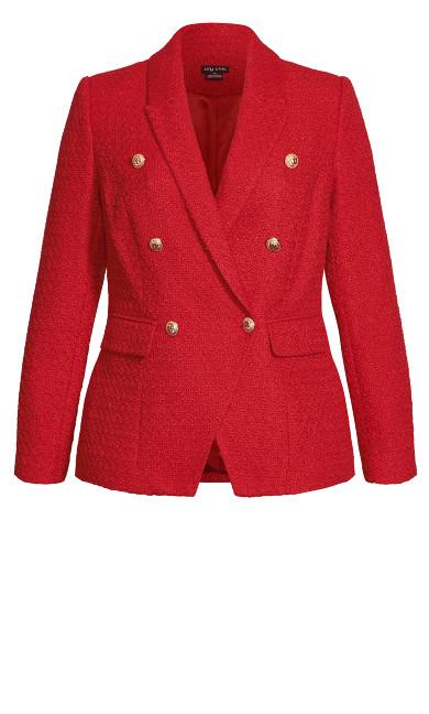 Royale Jacket - crimson
