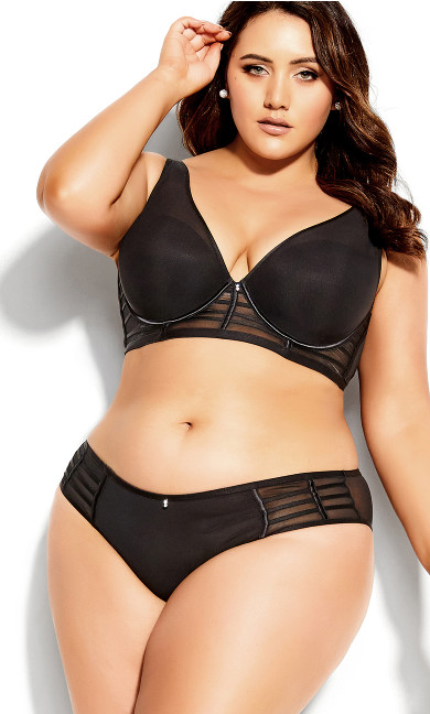 Arizona Longline Contour Bra - black