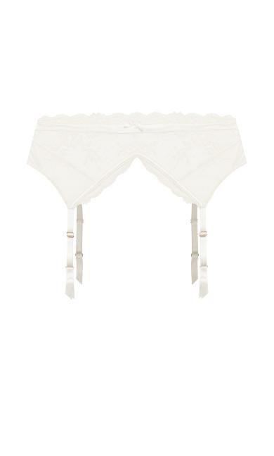 Alina Garter Belt - linen