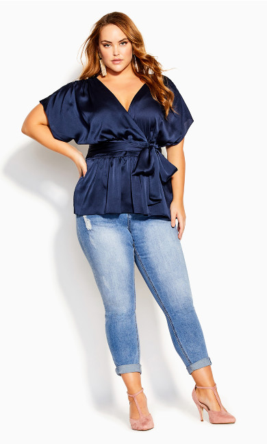 Tangled Top - navy