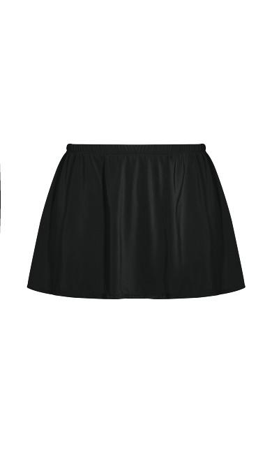 Basic Swim Skirt - black