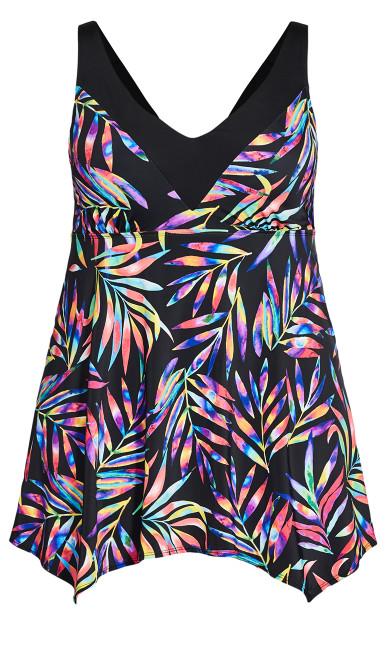 Prism Swim Dress - black