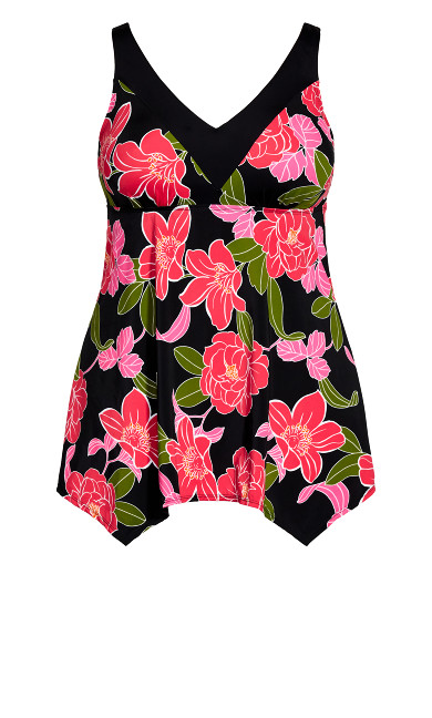 Gerbera Swim Dress - pink