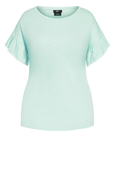 Cutie Sleeve Top - mint