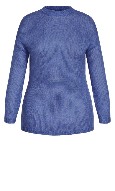 Effortless Sweater - blue