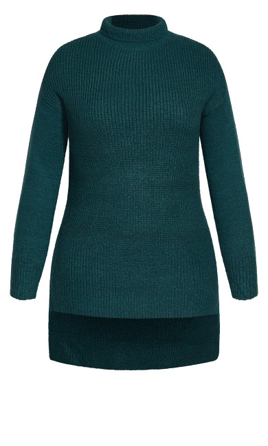 Simply Mod Sweater - alpine