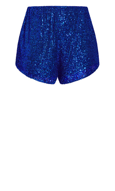 Glimmer Short - electric blue
