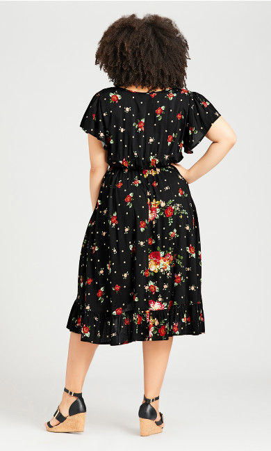 Boho Dress - black
