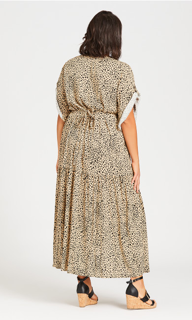 Val Print Dress - animal