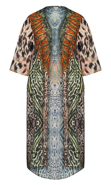 Coolcat Kimono - green