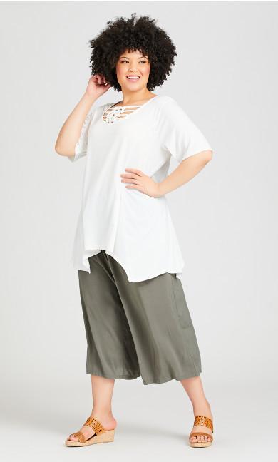 Plus Size Clifton Pant - light khaki