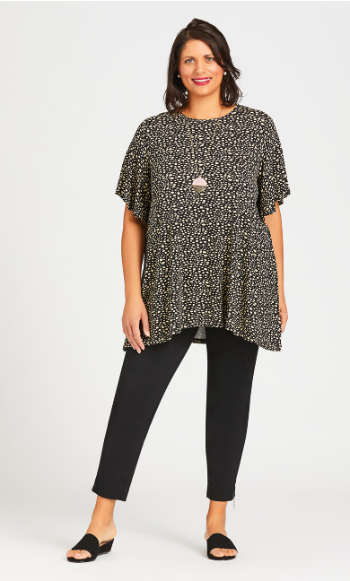 Flutter Sleeve Top - sand