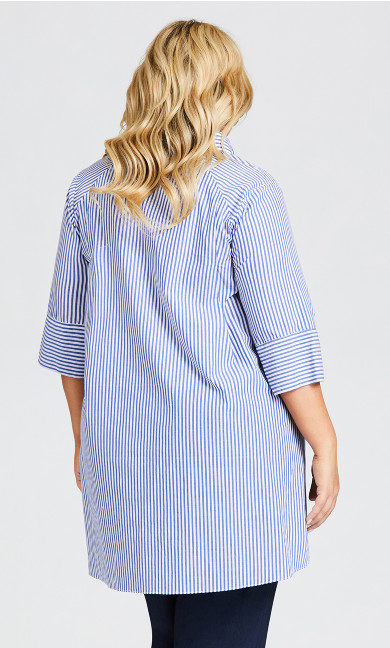 Shirt Tunic - blue