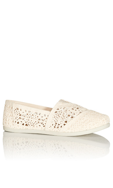 Plus Size Halley Espadrille - natural
