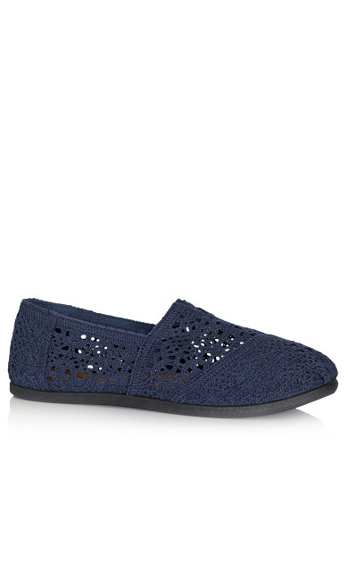 Plus Size Halley Espadrille - navy