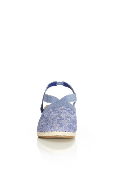 Casey Espadrille - chambray
