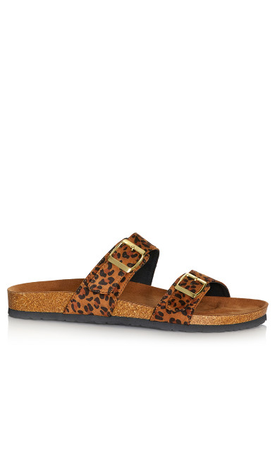 Plus Size Nelly Sandal - amber