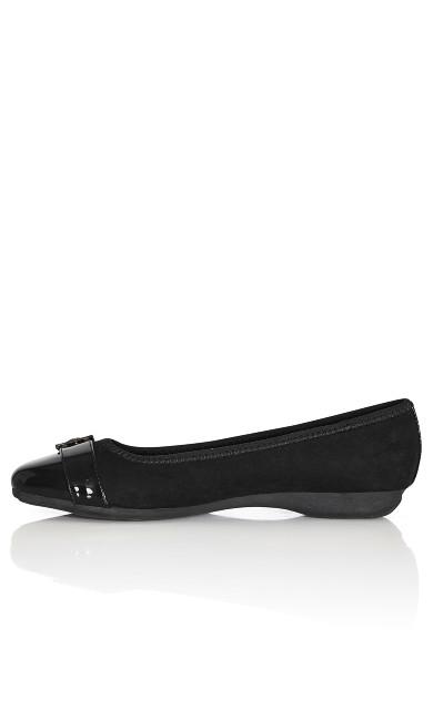 Reese Ballet Flat - black