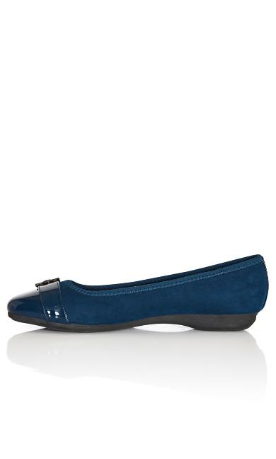 Reese Ballet Flat - navy