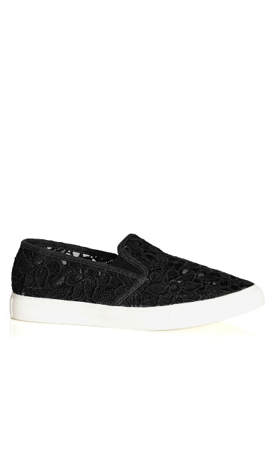 Lacey Slip On - black