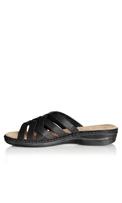 Alyse Slide - black