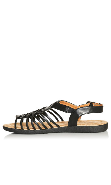 Meadow Sandal - black