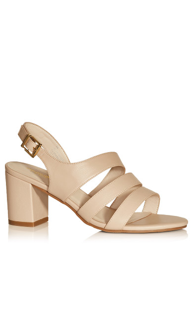 Helen Strappy Sandal - taupe