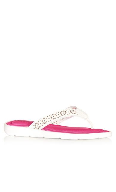 May Sandal - white