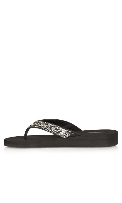 Georgia Wedge - black