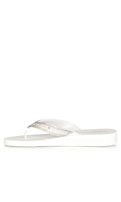 Georgia Wedge - white