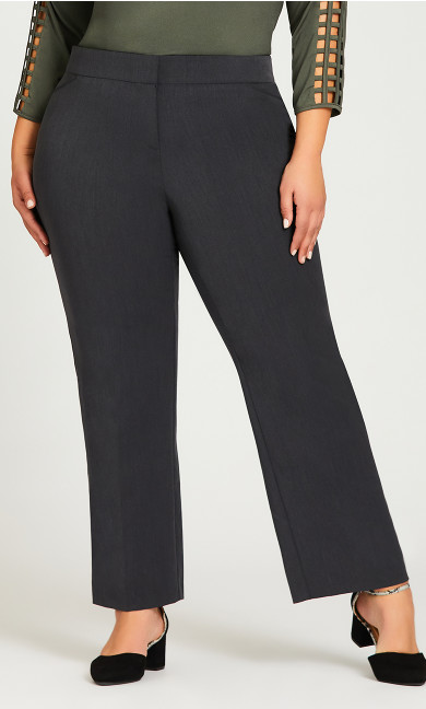 Cool Hand Trouser Charcoal - average